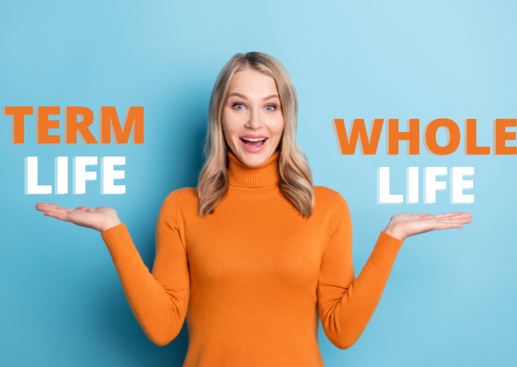 difference between term and whole life